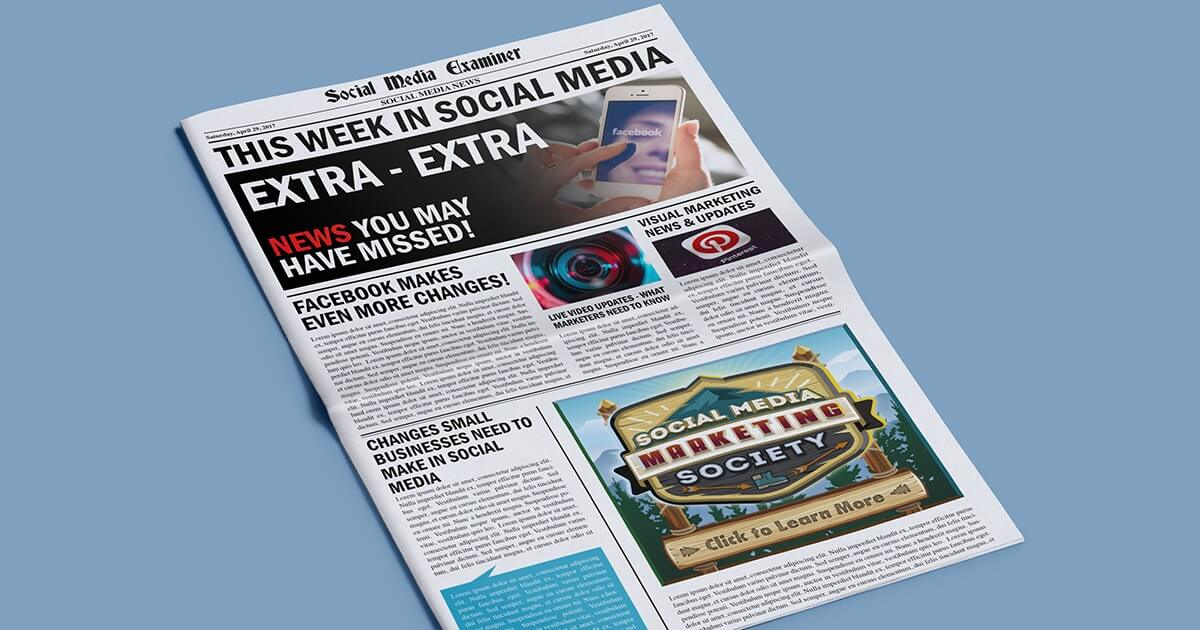 New LinkedIn Remarketing Capabilities: This Week in Social Media