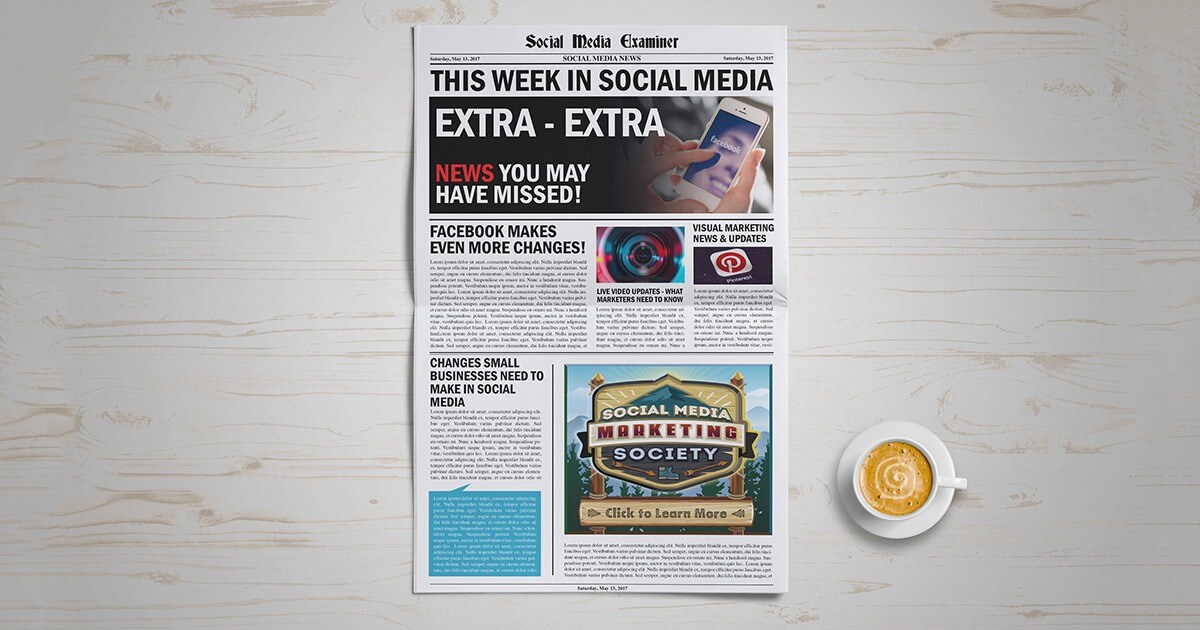 Facebook News Feed Changes, Snapchat Updates, and Facebook Group Discoveries