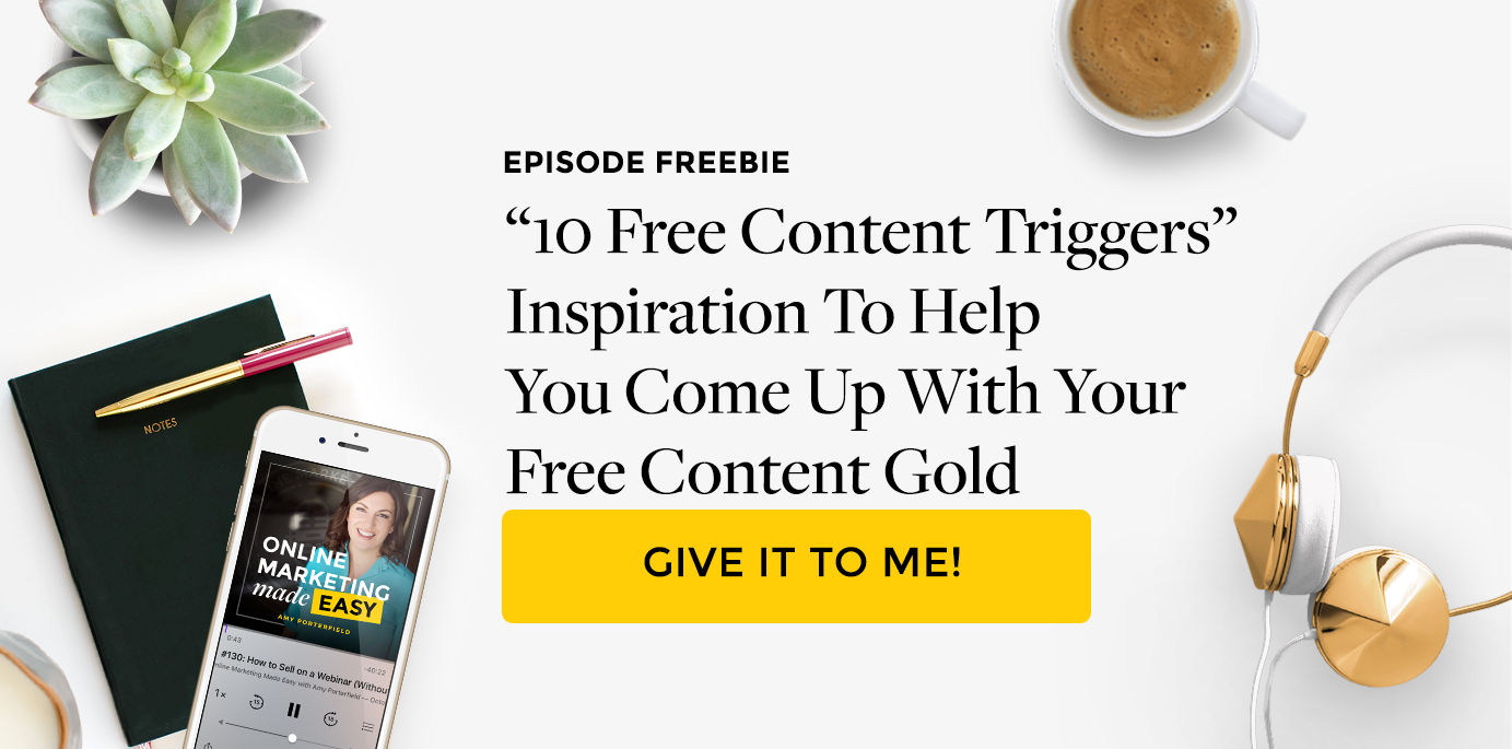 #164: Free Content vs. Paid Content (What's the Difference?)