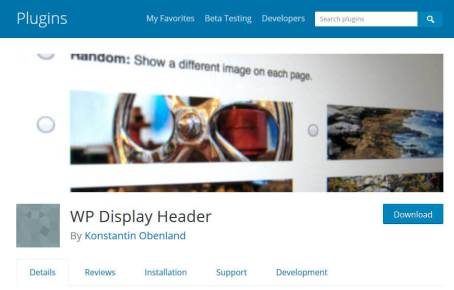 How to Create Rotating Header Images